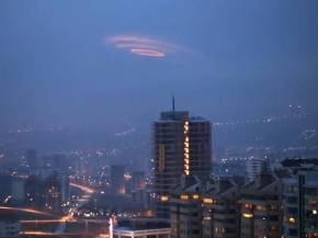 UFO spiral cloud anakara turkey