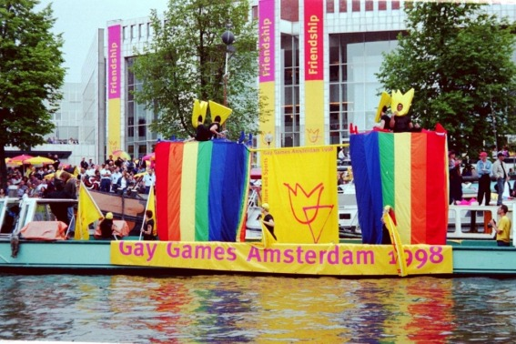 Gay-Games-Amsterdam-Canal-Parade